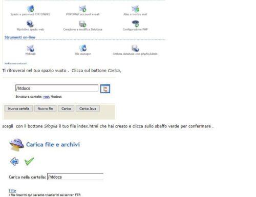 Come fare una semplice pagina web e spendere poco
