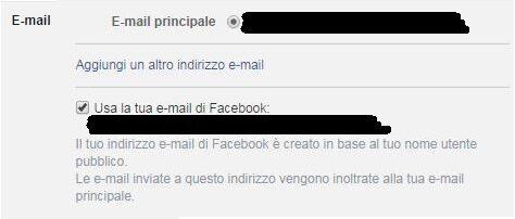 Sapevi di avere una email @facebook.com ? Usala come scudo per la privacy