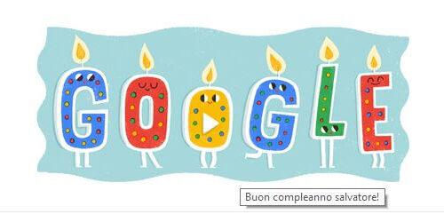 Google Doodle personalizzato per il mio compleanno